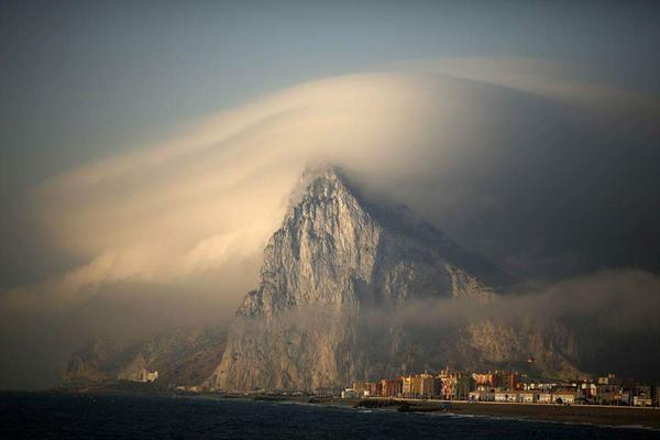 جبل طارق بأسبانيا
