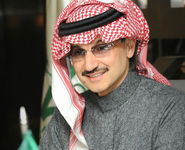 الوليد بن طلال أقوى شخصية عربية