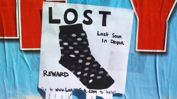اختفاء الجوارب