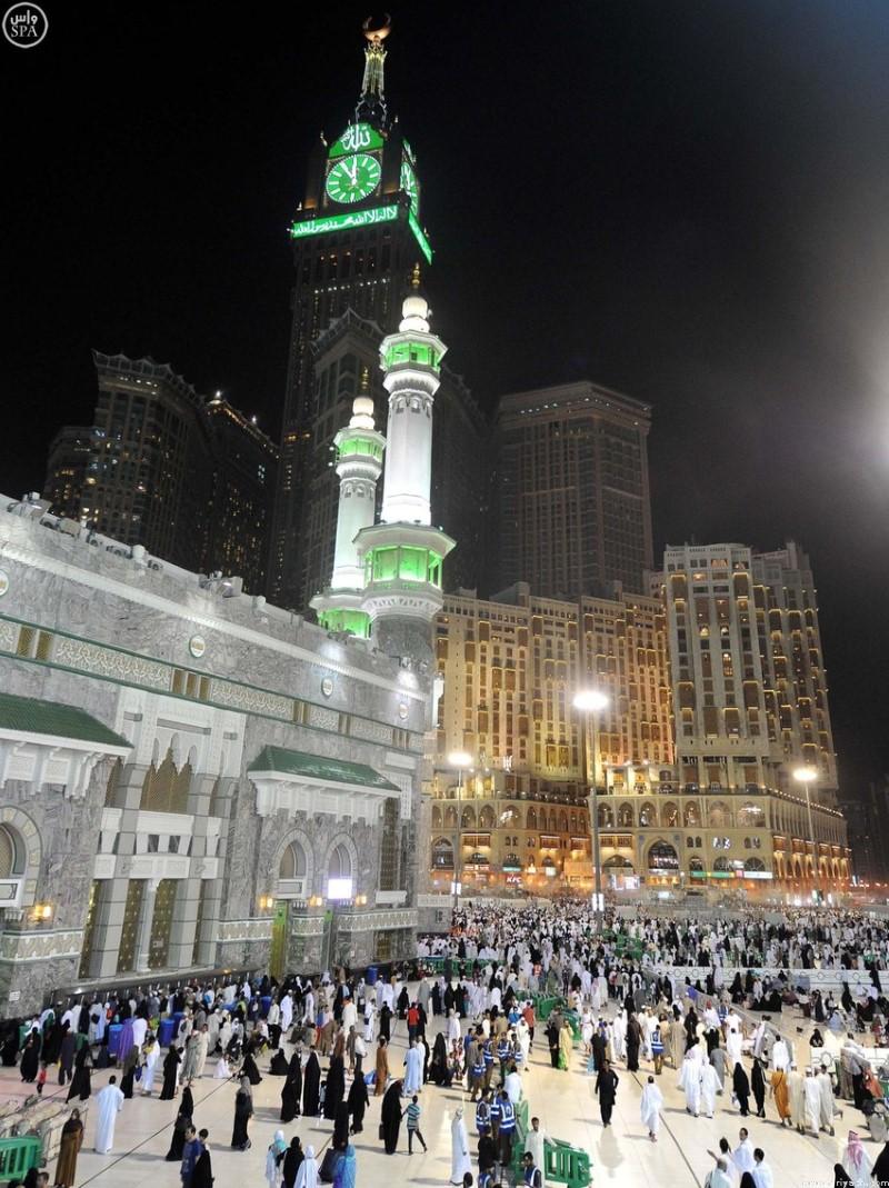 الحرم المكي في رمضان