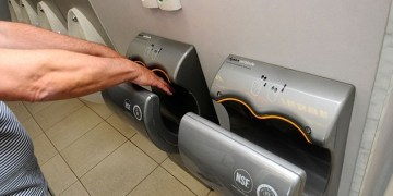 DRYERS IN PUBLIC BATHROOMS