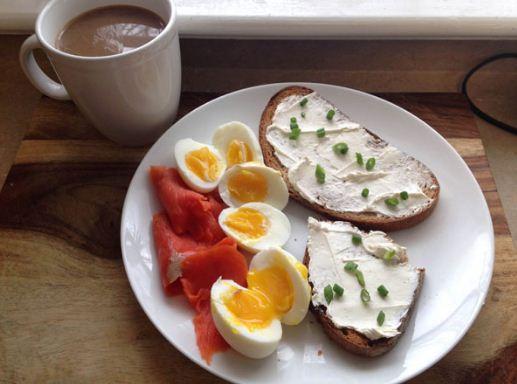 حمية البيض المسلوق