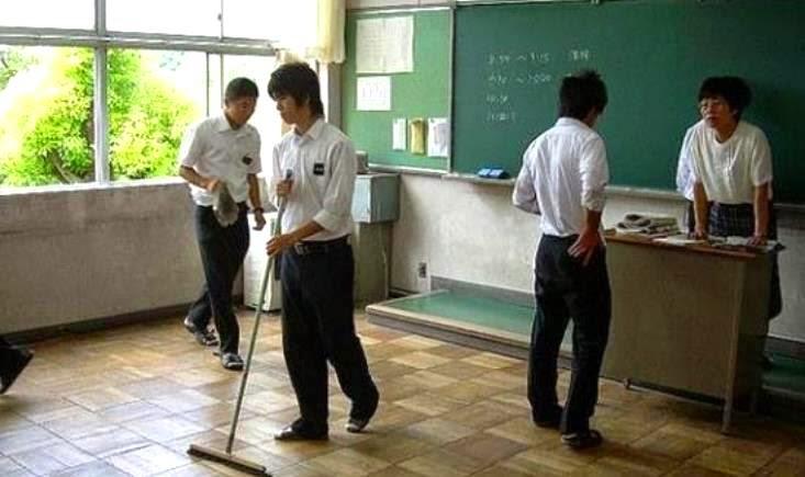 طلاب اليابان