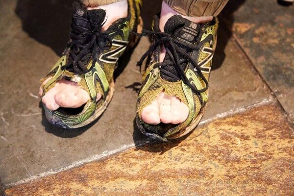 مسابقة حذاء عفن