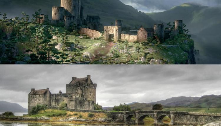 أسطورة مريدا: قلعة Eilean Donan، اسكتلندا 2961711