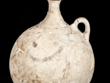 History's 1st Emoji? Ancient Pitcher Shows a Smiley Face