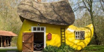 أغرب أشكال المنازل