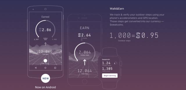 تطبيق Sweatcoin يمنحك المال مُقابل ممارستك للمشي
