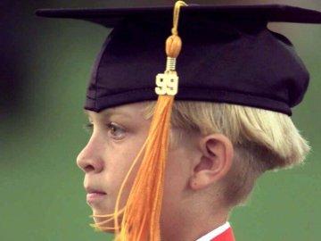أصغر الطلاب في الجامعات
