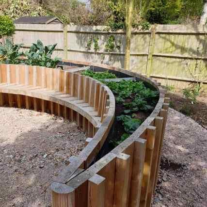 Abundance London GPs therapeutic garden planter