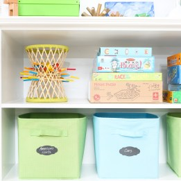 Organized Playroom Toys