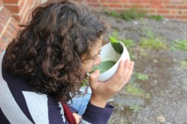 nettle soup - very health natural & tasty too