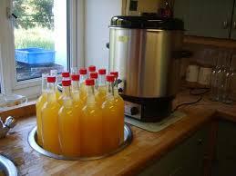 bottles of apple juice