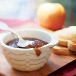 apple butter image - ab - with apple