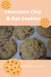 Chocolate Chip & Oat Cookies