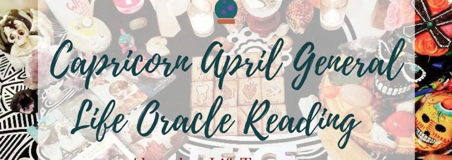 Capricorn April Tarot & Oracle Readings ~ ALT Premium – 🔮Abundant