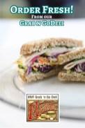 Grab n go menu