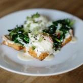 Little Star greens on toast