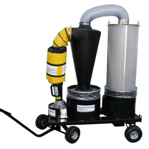 TX-DCS3 – PORTABLE DUST COLLECTION SYSTEM THREE INCH