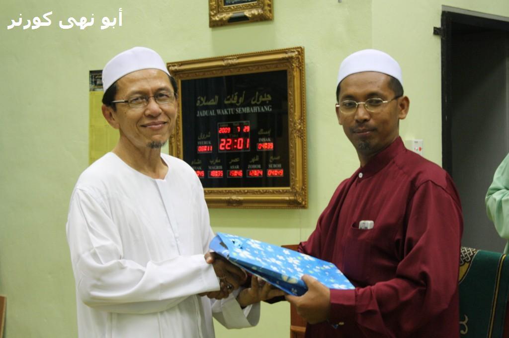 Terima kasih Tuan Hj! Cikgu Hameed mewakili PAS Kawasan