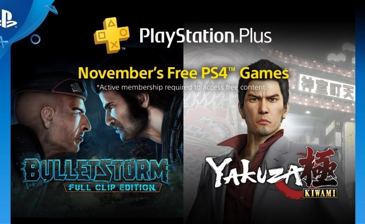 ألعاب بلاي ستيشن بلس المجانية لشهر نوفمبر 2018