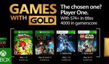 الألعاب المجانية لمشتركي إكس بوكس جولد لشهر مايو 2017