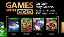 الألعاب المجانية لمشتركي إكس بوكس جولد لشهر يوليو 2017