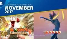 الألعاب المجانية لمشتركي بلاي ستيشن بلس لشهر نوفمبر 2017