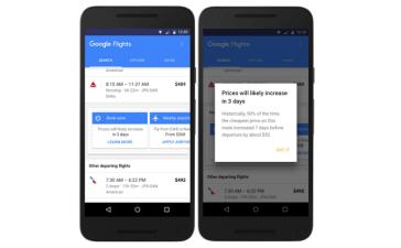 تحديث جديد إلى Google Flights حول أسعار التذاكر مستقبلاً
