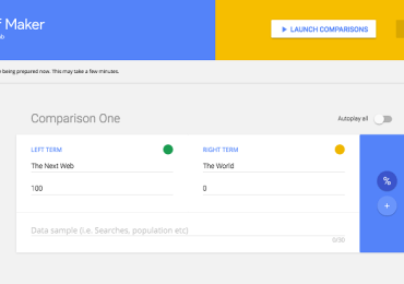 جوجل تطلق أداة الرسوم المتحركة لتحويل بياناتك إلى صور gif