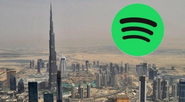 سبوتيفاي Spotify في الإمارات