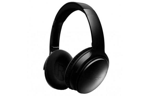 سماعات الرأس Bose QuietComfort 35 بخاصية إزالة الضجيج