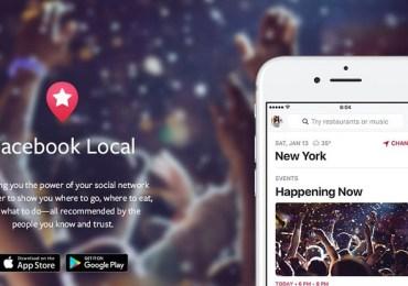 فيسبوك تعيد إحياء تطبيق Events بتطبيقها الجديد Facebook Local