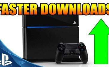 كيفية تحسين سرعة التحميل في جهاز PS4