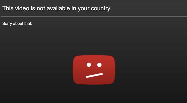 مشاهدة فيديوهات يوتيوب المحظورة في دولتك