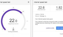 كيف تستخدم أداة جوجل لقياس سرعة الانترنت Speed Test Tool