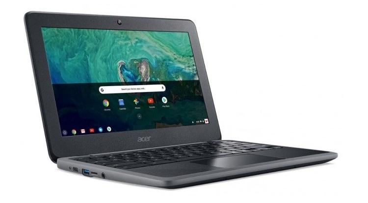 نظرة واسعة على حاسب Acer الجديد كروم بوك 11C732 المناسب للأطفال