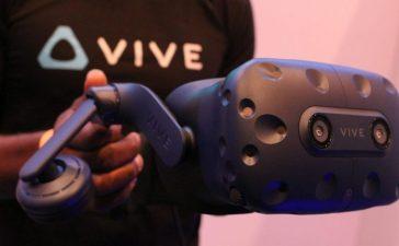 نظارة HTC Vive Pro الجديدة تجعل واقعك الافتراضي أكثر وضوحاً _ CES 2018