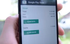 Clear app cache clear app data