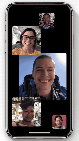Factime ios 12 grouped conversations