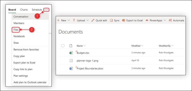ونصائح لاستخدام تطبيق Microsoft Planner Files.png?w=1170