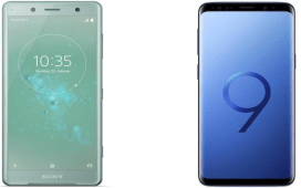 Galaxy S9 vs Xperia XZ2
