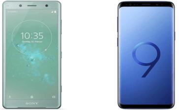 Galaxy S9 vs Xperia XZ2