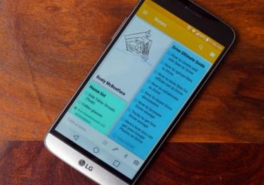 Google Keep LG G5