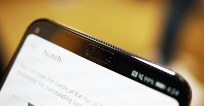 Hide Notch Huawei P20 Pro