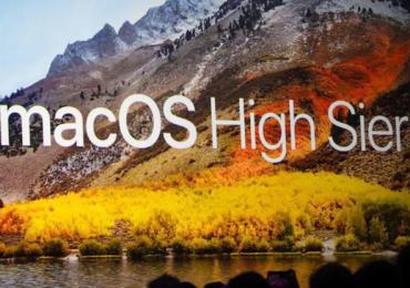 MacOS High Sierra Safari 11
