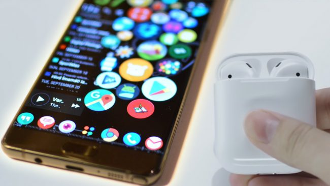 Pairing Airpods with Android