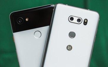 Pixel 2 XL vs LG V30