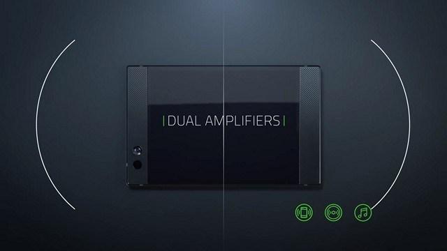 Razer Phone Dual Amplifiers Audio