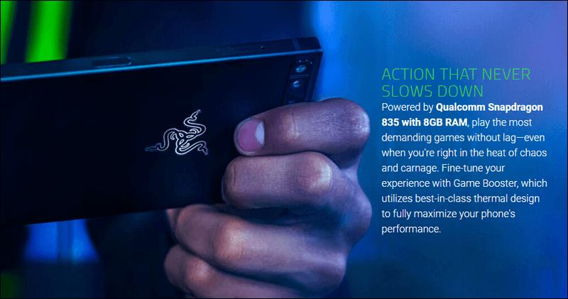 أداء هاتف Razer Phone